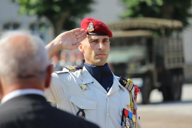 """Castres : le colonel Prod'Homme passe la main au colonel Degand à la tête du """"8"""" 22535710"""