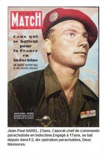 Décès notre camarade parachutiste Jean-Paul Hamel blessé à Dien Bien Phu. Décès ce jour 10 mai 2020 à 10h45 26022810