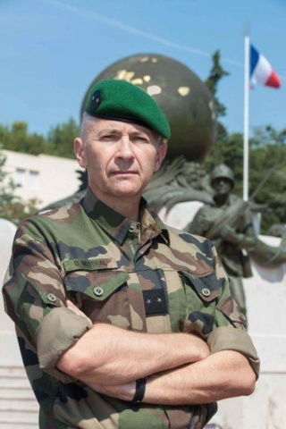 Le général Denis Mistral prendra le commandement de la Légion étrangère à l'été 2018. 38152710
