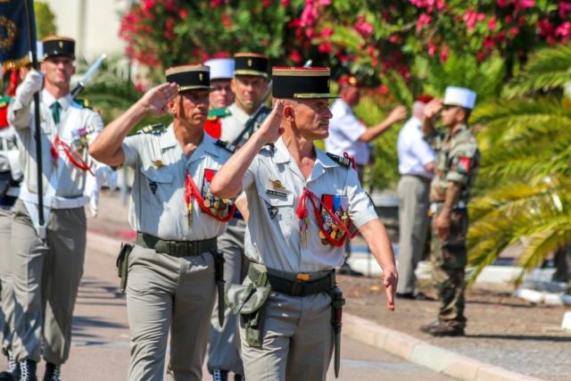 Le colonel Christophe Passerat de la Chapelle nouveau chef de corps du 2e REP  38230710