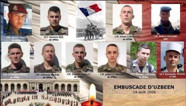 8e RPIMa Hommage aux huit parachutistes embuscade Uzbeen Afghanistan-  - Page 2 39306710