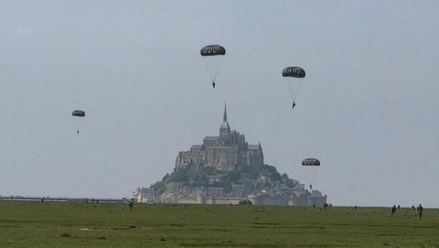 75e anniversaire du Débarquement. Ranville et Sannerville se disputent les parachutistes 579bf110