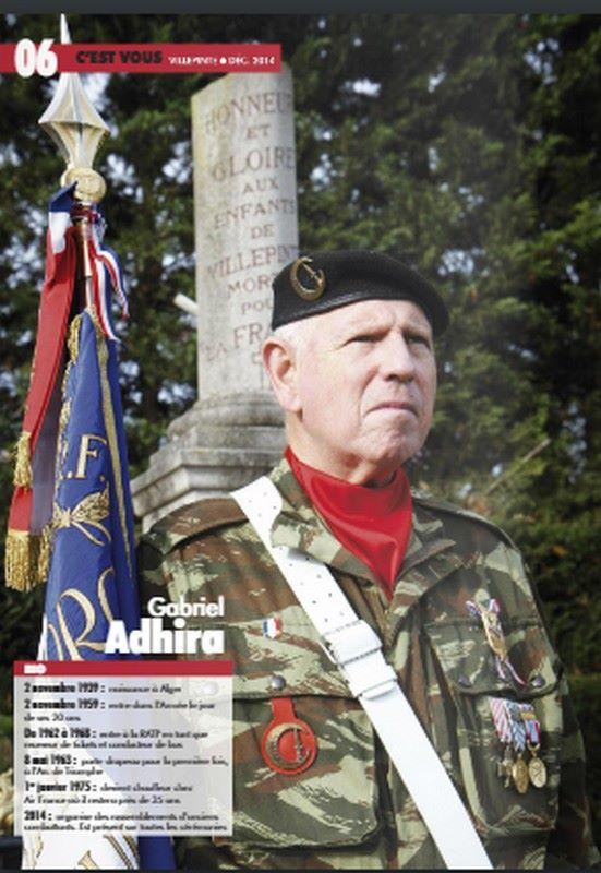 Gabriel ADHIRA, porte-étendard du Commando Georges n'est plus 67070310