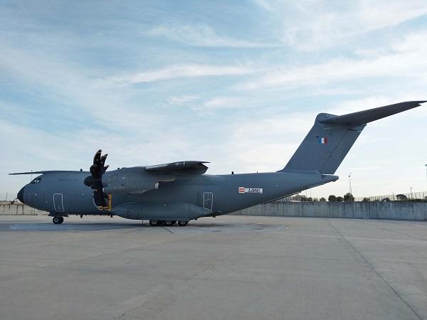 La DGA a réceptionné un 18e A400M Atlas, doté des dernières capacités tactiques validées Atlas-10