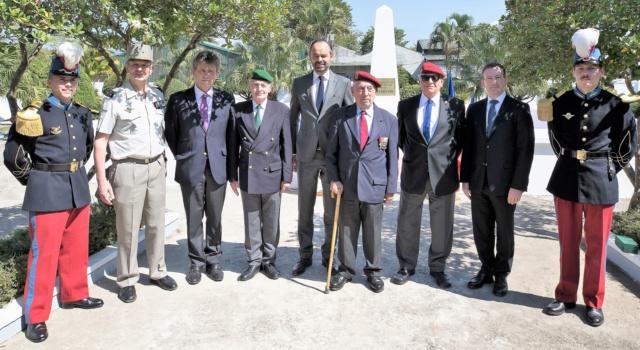 Colonel Jacques ALLAIRE Visite à Dien Bien Phu en 2018 accompagnant le Premier ministre Dbp-312