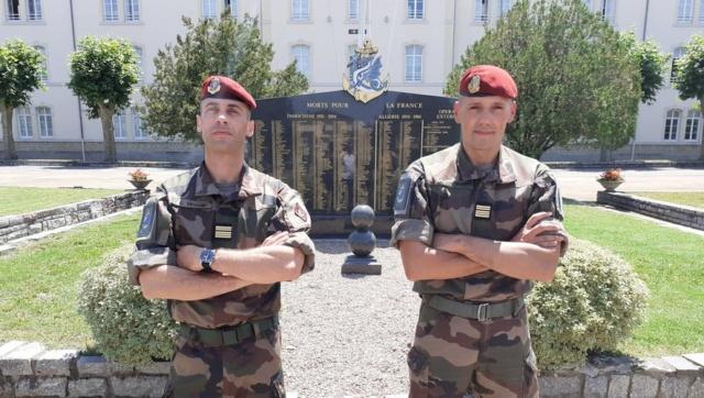 """Castres : le colonel Prod'Homme passe la main au colonel Degand à la tête du """"8"""" Image33"""