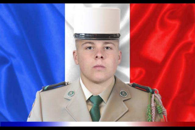 Le légionnaire de 1ère classe Kévin Clément du 1er REC a été tué au combat au Mali Legion11