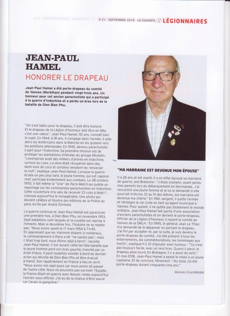 La Cohorte honore Jean-Paul HAMEL Smlh_j11