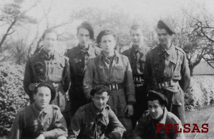 René Mendiondo, caporal SAS de la France libre, n'est plus.. Stick_10