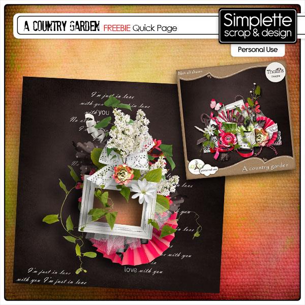 A country Garden (Thaliris) - QP Simpl498