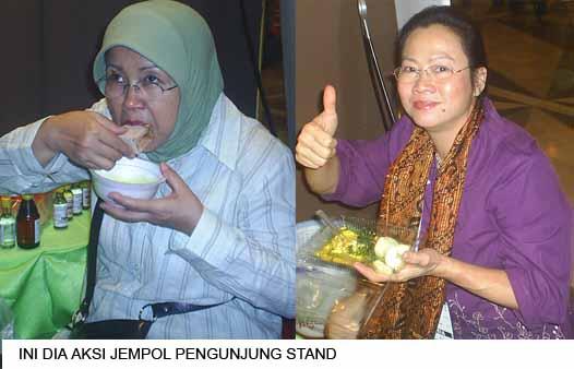Makanan  khas SSI di  arena Pameran Aksi_j10