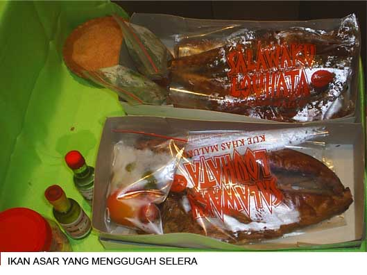 Makanan  khas SSI di  arena Pameran Ikan_a11
