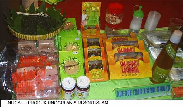 Makanan  khas SSI di  arena Pameran Produk10