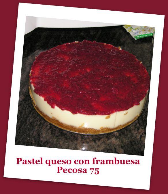 PASTEL DE QUESO CON FRAMBUESA P7130010