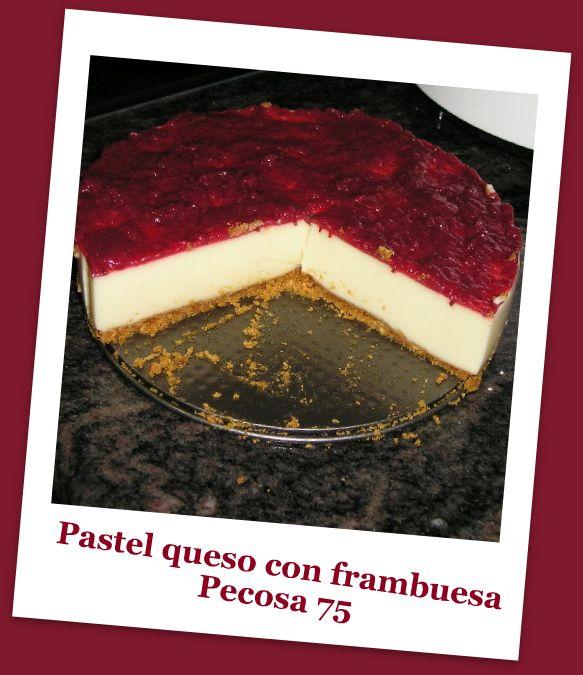 PASTEL DE QUESO CON FRAMBUESA P7130011