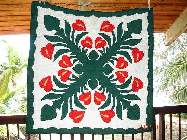 Beautiful Hawaiian Quilts Available Anthur11