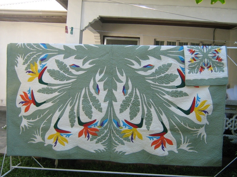 Beautiful Hawaiian Quilts Available Birds_10