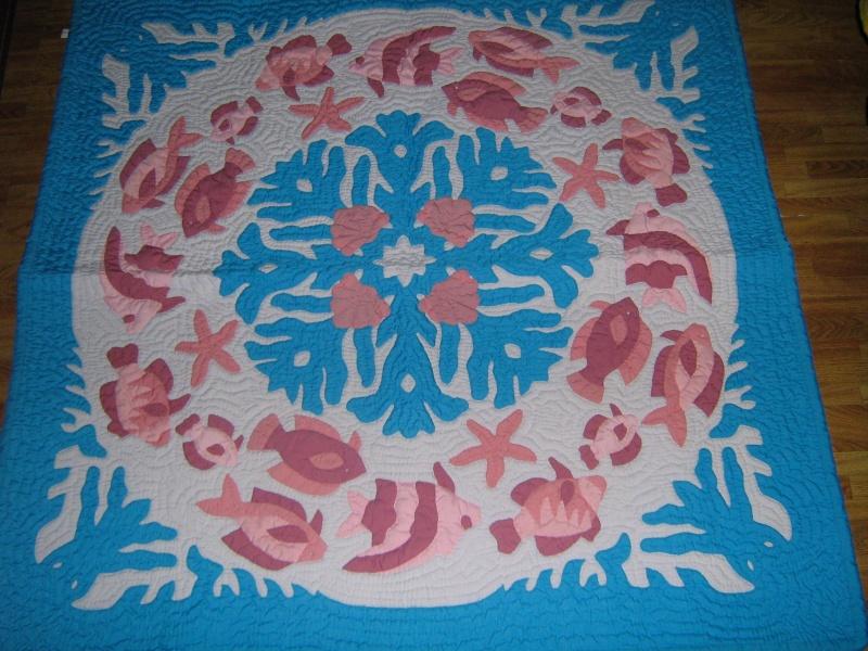 Beautiful Hawaiian Quilts Available Fish_q10
