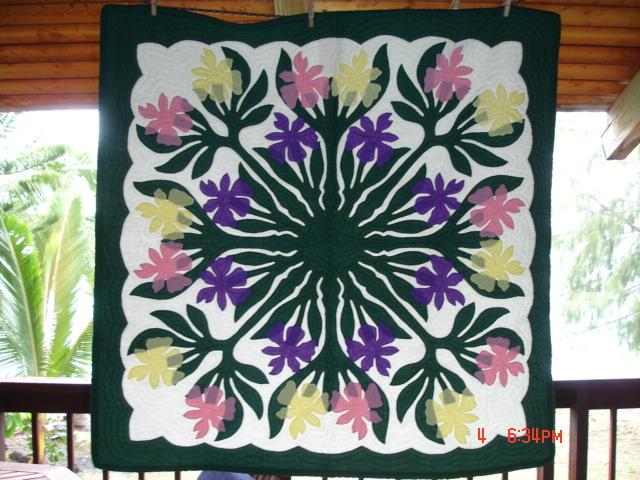 Beautiful Hawaiian Quilts Available Irish_11