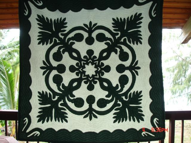 Beautiful Hawaiian Quilts Available Ulu_qu11