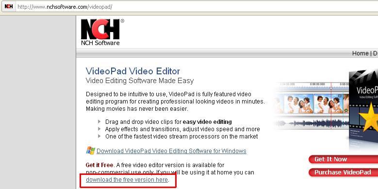 VideoPad Video Editor : premiers pas en montage vidéo Sans_t45