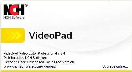 VideoPad Video Editor : premiers pas en montage vidéo Sans_t46
