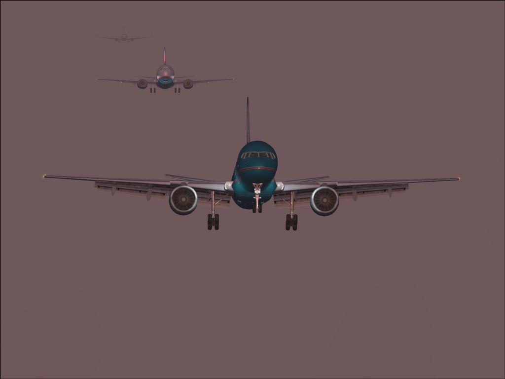 [FS9] Landing in KSFO - Only One - Byeeee Sunset11