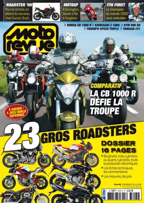 Comparatif sur Moto revue demain Sommai10