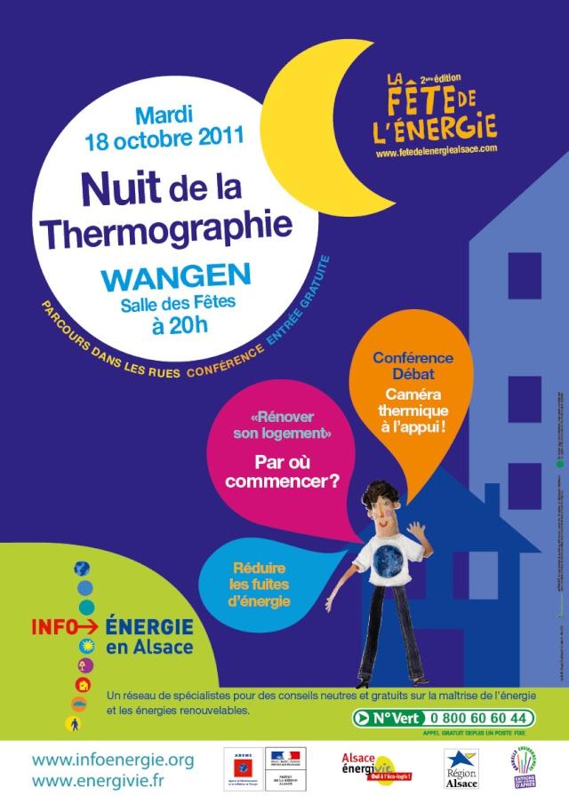 Nuit de la thermographie mardi 18 octobre 2011 à Wangen Affich10