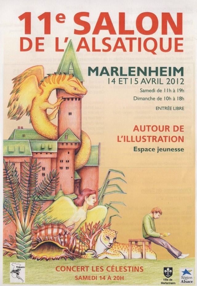 Hélène Strohl Maffesoli au 11ème salon de l' alsatique de Marlenheim le14 avril 2012 Image105
