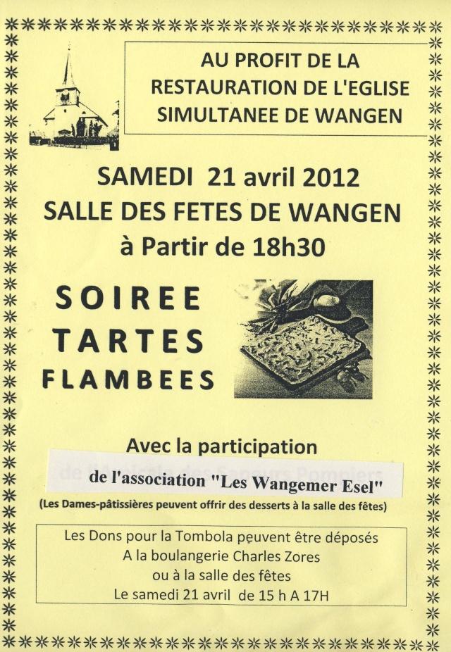 Soirée tartes flambées au profit de la restauration de l'église samedi 21 avril 2012 salle des fêtes de Wangen Image109