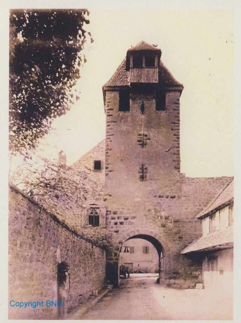 Images et gravures anciennes de Wangen Image152