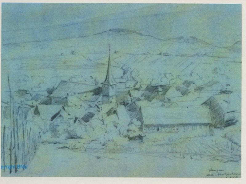 Images et gravures anciennes de Wangen Image154