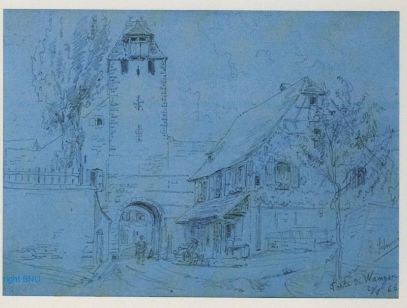 Images et gravures anciennes de Wangen Image155