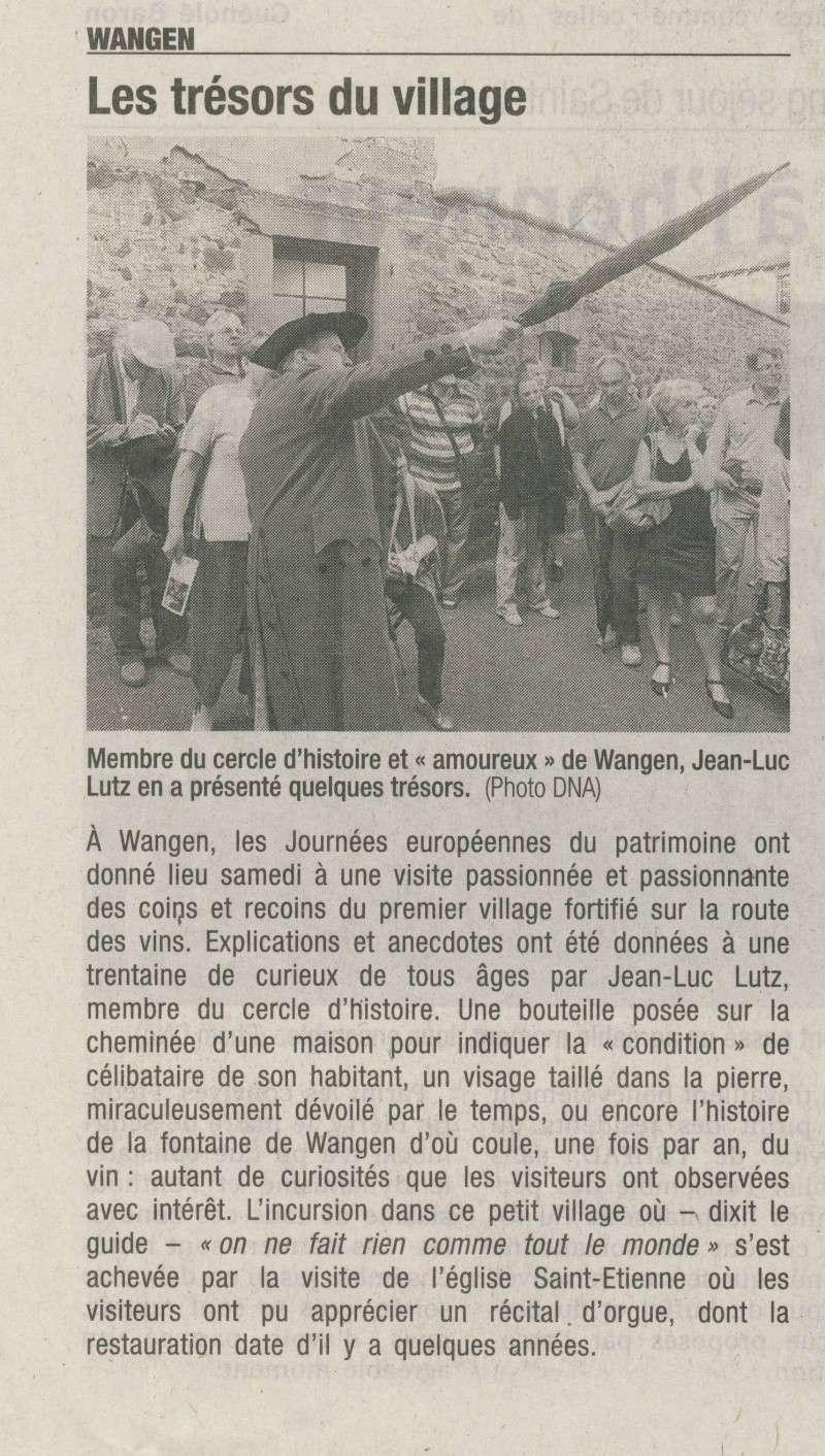Porte du Vignoble :Journées Européennes du Patrimoine 17 et 18 septembre 2011 Image157