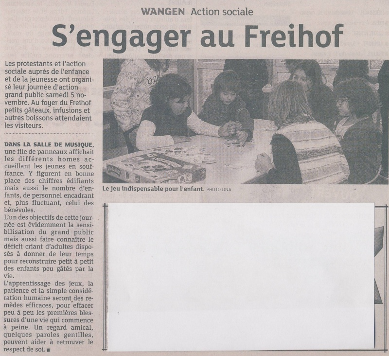 Elans de solidarité avec le Freihof  à Wangen Image175