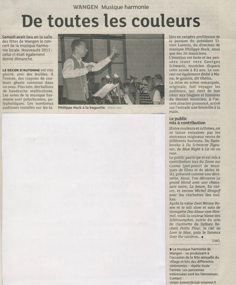 Concert de la Musique Harmonie de Wangen des 19 et 20 novembre 2011 Image179