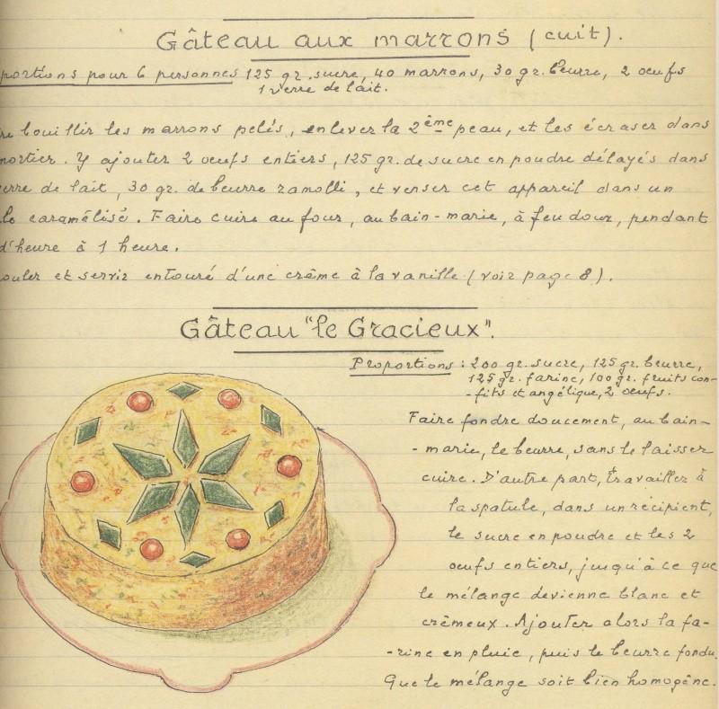 Les Cahiers de Cuisine du Général Strohl Image193