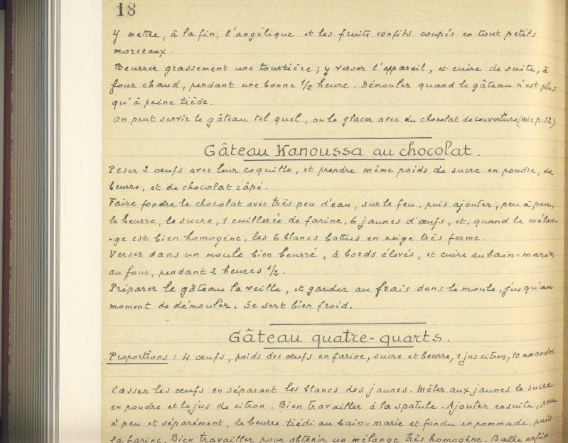 Les Cahiers de Cuisine du Général Strohl Image194