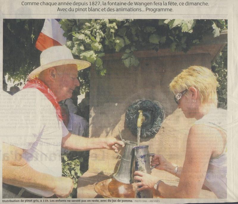 Wangen : Fête de la Fontaine le 8 juillet 2012 Image240