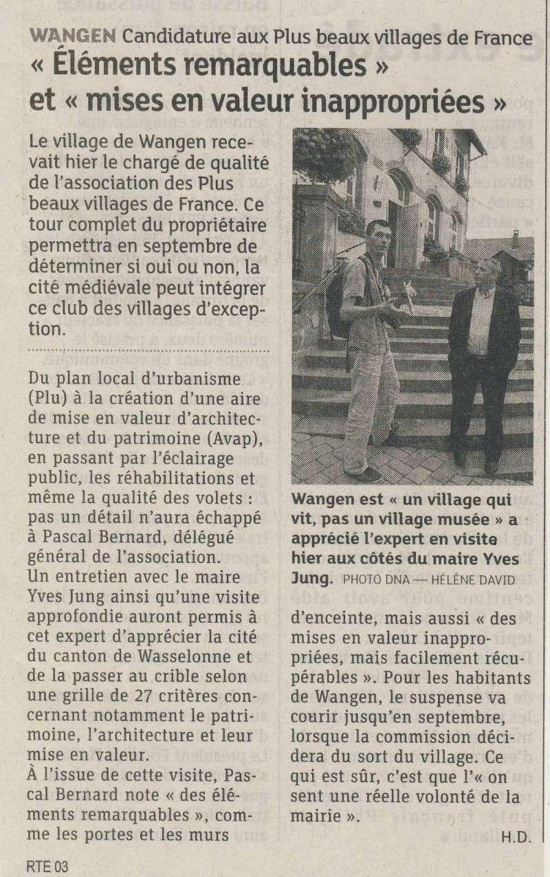 Wangen est-il l 'un des plus beaux villages de France? Image249