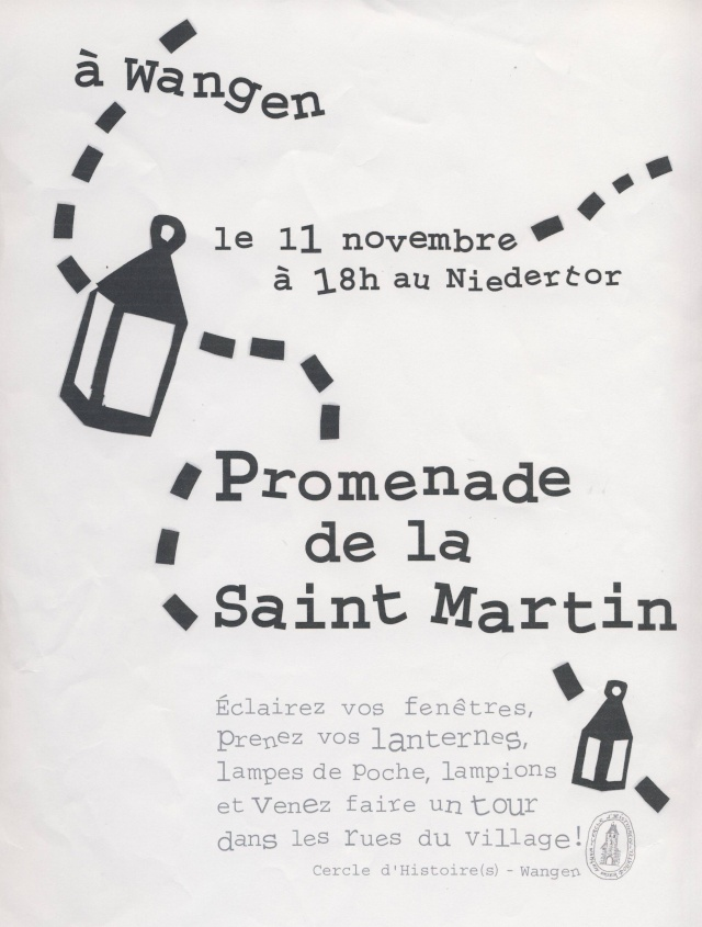 saint martin - Promenade de la Saint Martin  le 11 novembre 2012 à Wangen Image253
