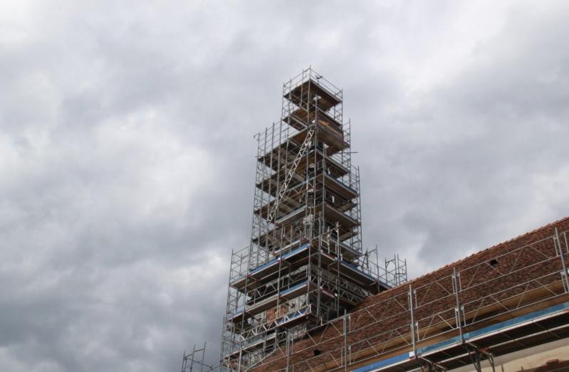 Le chantier de restauration de l'église simultanée de Wangen ... Img_0321