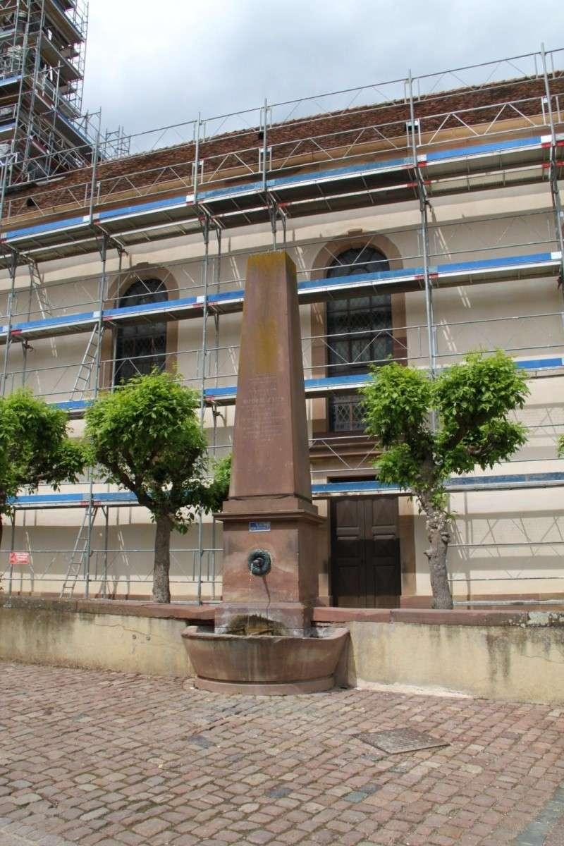 Le chantier de restauration de l'église simultanée de Wangen ... Img_0413