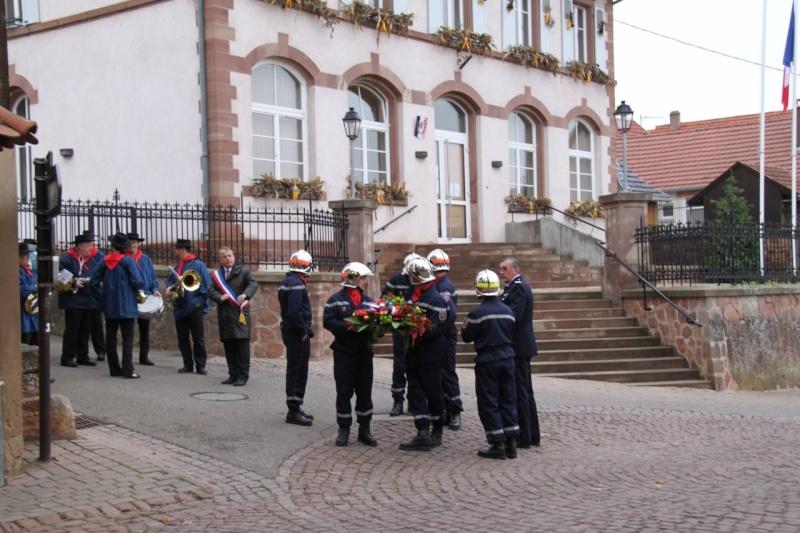 11 novembre - Célébration de l'armistice à Wangen le vendredi 11 novembre 2011 Img_8811