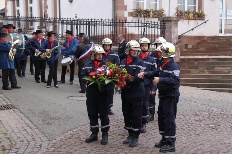 11 novembre - Célébration de l'armistice à Wangen le vendredi 11 novembre 2011 Img_8812