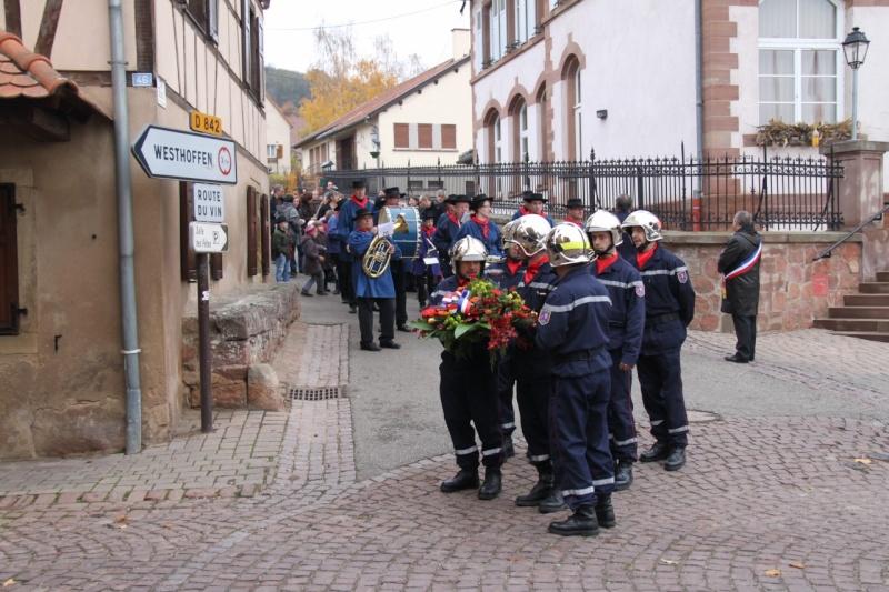 11 novembre - Célébration de l'armistice à Wangen le vendredi 11 novembre 2011 Img_8813
