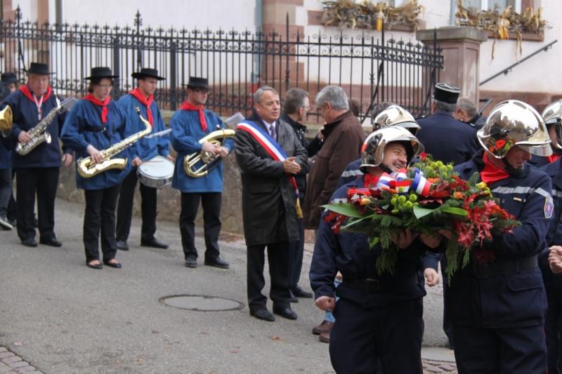 11 novembre - Célébration de l'armistice à Wangen le vendredi 11 novembre 2011 Img_8814