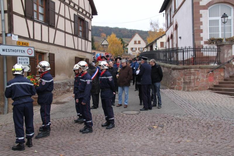 11 novembre - Célébration de l'armistice à Wangen le vendredi 11 novembre 2011 Img_8816