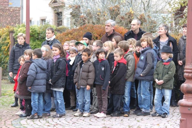 11 novembre - Célébration de l'armistice à Wangen le vendredi 11 novembre 2011 Img_8825
